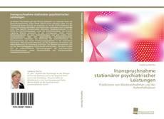 Bookcover of Inanspruchnahme stationärer psychiatrischer Leistungen