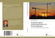 Обложка Projektbezogene Arbeitsorganisation im Großanlagenbau