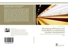Bookcover of Managing efficiency and innovation in continuous product development
