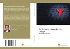 Portada del libro de Behinderten-freundlichen Design