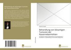 Buchcover von Behandlung von bösartigen Tumoren der Nasennebenhöhlen