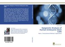 Bookcover of Epigenetic Analysis of Human Embryonic Stem Cells