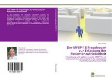 Buchcover von Der MFBP-18 Fragebogen zur Erfassung der Patientenzufriedenheit