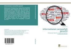 Bookcover of Informationen verzweifelt gesucht