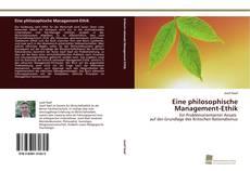 Portada del libro de Eine philosophische Management-Ethik