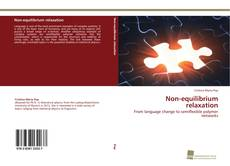 Bookcover of Non-equilibrium relaxation