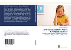 Buchcover von Sehr früh geborene Kieler Grundschulkinder