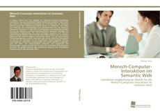 Bookcover of Mensch-Computer-Interaktion im Semantic Web