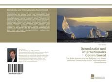Demokratie und internationales Commitment kitap kapağı