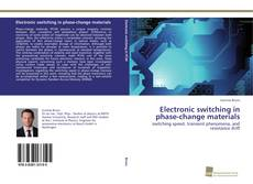 Copertina di Electronic switching in phase-change materials