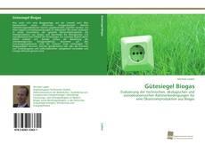 Portada del libro de Gütesiegel Biogas