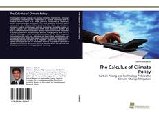Capa do livro de The Calculus of Climate Policy