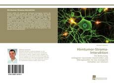 Buchcover von Hirntumor-Stroma-Interaktion
