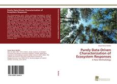 Purely Data-Driven Characterization of Ecosystem Responses的封面