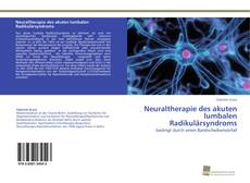 Bookcover of Neuraltherapie des akuten lumbalen Radikulärsyndroms