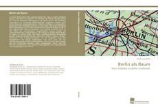 Berlin als Raum kitap kapağı