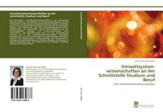 Couverture de Umweltsystemwissenschaften an der Schnittstelle Studium und Beruf