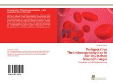 Portada del libro de Perioperative Thromboseprophylaxe in der deutschen Neurochirurgie