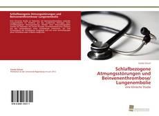 Buchcover von Schlafbezogene Atmungsstörungen und Beinvenenthrombose/ Lungenembolie