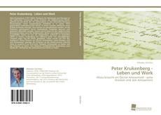 Capa do livro de Peter Krukenberg - Leben und Werk