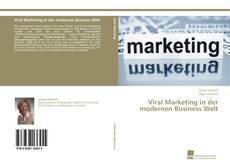 Buchcover von Viral Marketing in der modernen Business Welt