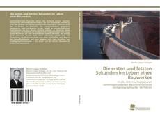 Buchcover von Die ersten und letzten Sekunden im Leben eines Bauwerkes