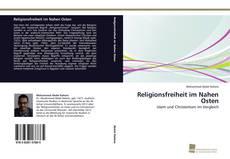 Couverture de Religionsfreiheit im Nahen Osten