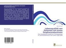 Portada del libro de Lebensqualität von Patienten mit einem Oropharynxkarzinom