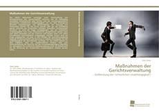 Bookcover of Maßnahmen der Gerichtsverwaltung