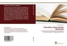 Bookcover of Schreiben ohne festen Wohnsitz