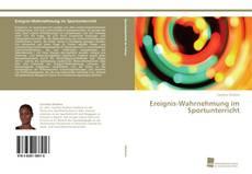 Portada del libro de Ereignis-Wahrnehmung im Sportunterricht