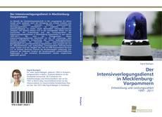 Der Intensivverlegungsdienst in Mecklenburg-Vorpommern的封面