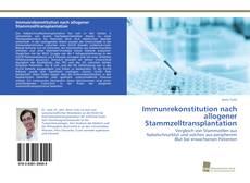 Copertina di Immunrekonstitution nach allogener Stammzelltransplantation