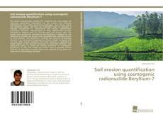 Capa do livro de Soil erosion quantification using cosmogenic radionuclide Beryllium-7