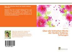 Bookcover of Über die kritischen Werte der Rankin-Selberg-Faltungen