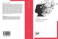 Bookcover of Écriture au féminin