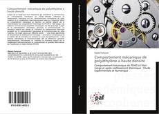 Portada del libro de Comportement mécanique de polyéthylène a haute densité