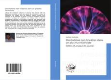 Capa do livro de Oscillations non linéaires dans un plasma relativiste