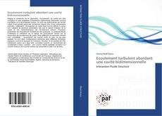 Bookcover of Ecoulement turbulent abordant une cavité bidimensionnelle