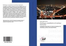 Politique monétaire et secteur bancaire kitap kapağı