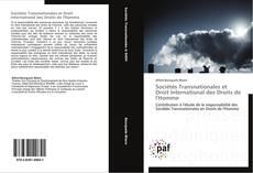 Copertina di Sociétés Transnationales et Droit International des Droits de l'Homme