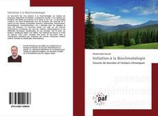 Buchcover von Initiation à la Bioclimatologie