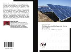 Обложка Cellule photovoltaïque de 3ème génération