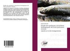 Etude de quelques caractères biologiques de trois poissons osseux kitap kapağı