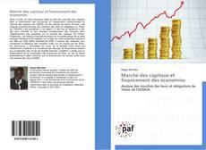 Marché des capitaux et financement des économies kitap kapağı