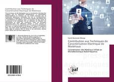 Capa do livro de Contribution aux Techniques de Caractérisation Electrique de Matériaux