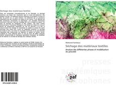 Capa do livro de Séchage des matériaux textiles