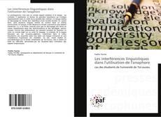 Buchcover von Les interférences linguistiques dans l'utilisation de l'anaphore
