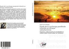 Capa do livro de Étude de la surcharge pondérale infantile en Afrique subsaharienne