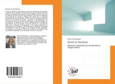 Portada del libro de Droit et Gestion